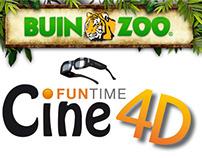 Branding Cine 4D / funtime / buinzoo