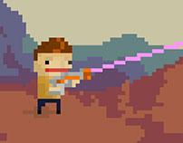 Pixel Art for Star Trek 50th