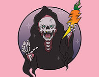 Vegan Grim Reaper