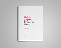 Clean Creative Brochure