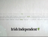 TVC for the Irish Independent