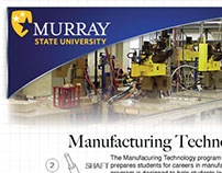 MSU Industrial and Engineering Tech Promotional Flyers
