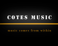 Cote's Music (Corperate Identity)