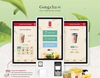 Gong Cha Self-order Kiosk UI & UX Design