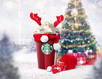 #MerrySips with Starbucks