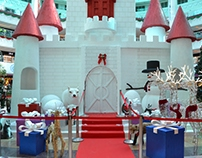 Christmas Castle - Oasis Mall Dubai