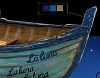 Pixar's LA LUNA: Logo/Branding & Title Design
