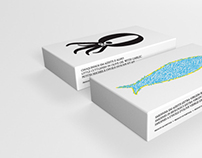 Canned fish / packaging illustrations