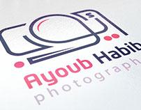 Ayoub Habib photographer logo