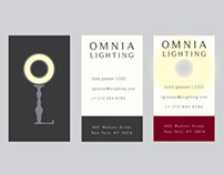 Brand Identity: Omnia Lighting