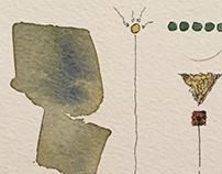 Oniric calligraphy