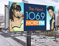106.9 More FM Billboard