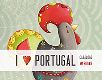 Tourist chocolates collection | I love Portugal · PT
