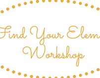 Find Your Element Workshop: Media Production