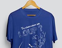 """""""ENL"""" tshirt design"""