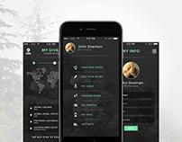 Scuba-Diving Tracker_Concept App