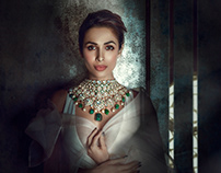 Malaika Arora for Khanna Jewellers