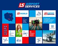 LS Airport Services - stoisko wystawiennicze