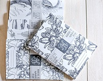 Notebooks ART WHITE handmade by agakubish design