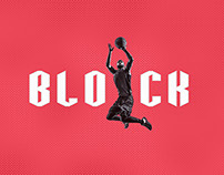 Block - Custom Sports Typeface