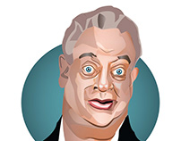 Rodney Dangerfield Caricature