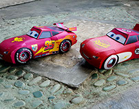 Disney Cars - Papertoy Photography