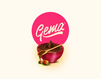 Gema Packaging and Lettering Prototype