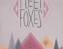 Fleet Foxes Band Poster