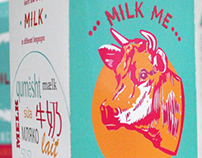 Retro Milk Packaging