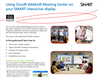 Job aid: Using Cisco WebEx Meeting Center...