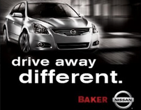 BAKER NISSAN // DRIVE AWAY DIFFERENT