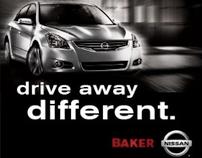 BAKER NISSAN // DRIVE AWAY DIFFERENT