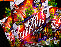 Flyer Merry Christmas Party