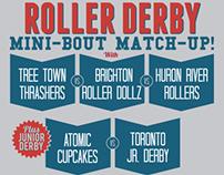 Mini-Bout Match-Up Poster 6.2.12
