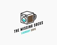 Branding: The Missing Socks Laundry Cafe