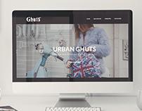 Ghuts® web design