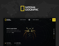 National Geographic UI/UX Redesign