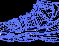 Air Jordan XI Concord Ilustration