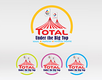 Total Under the Big Top logo