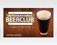 Beer Club membership card