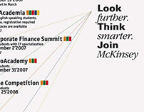 McKinsey Education Program posters