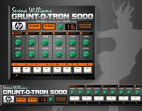 Ringtone mixer: Serena Williams GRUNT-O-TRON 5000.