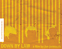 Criterion Collection DVD Redesign: Down By Law