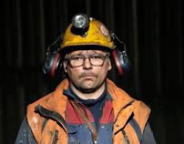 Coal Miners in Svalbard
