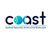 Coast - A seafood restaurant logo
