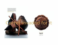 Print Ad: Häagen-Dazs Mayan Chocolate