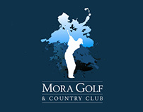 logotipo Mora Golf