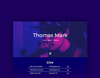 Thomas Mark Website