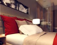 Hotel room in Sochi / Russia