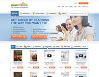 Examville - web design